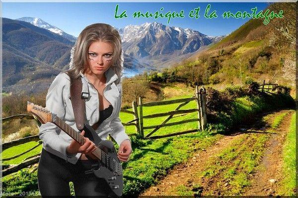 La musique et la montagne