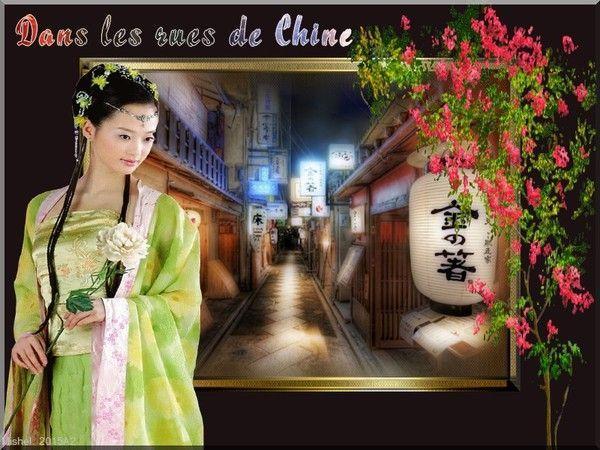 Dans les rues de Chine