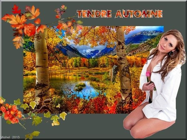 Tendre automne